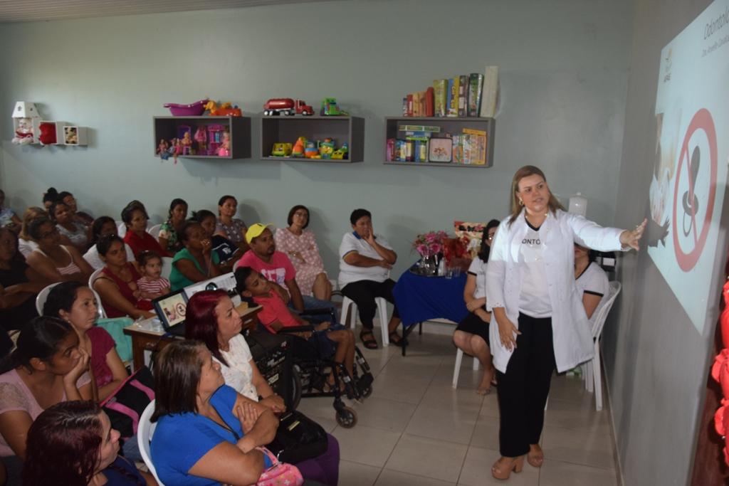 APAE Paraíso apresenta Projeto Saúde com orientação aos pais