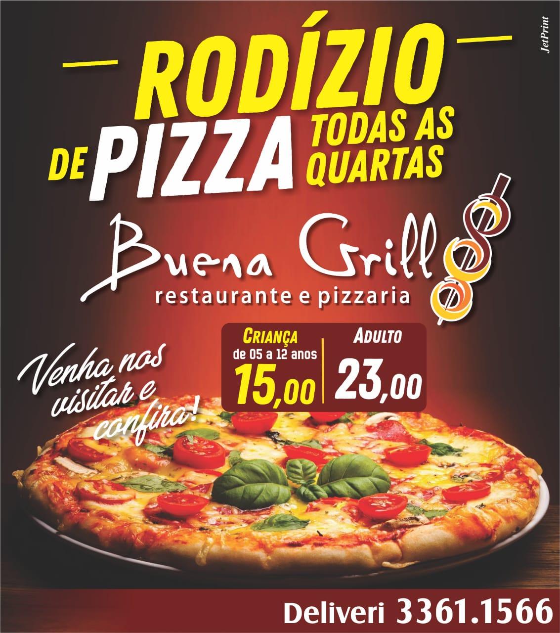 Buena Grill prepara mais uma quarta-feira de rodízio em Paraíso (TO)
