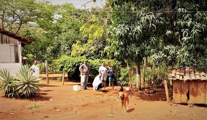 Comunidade da região da Pedreira, em Lajeado (TO), recebe ação de combate à leishmaniose