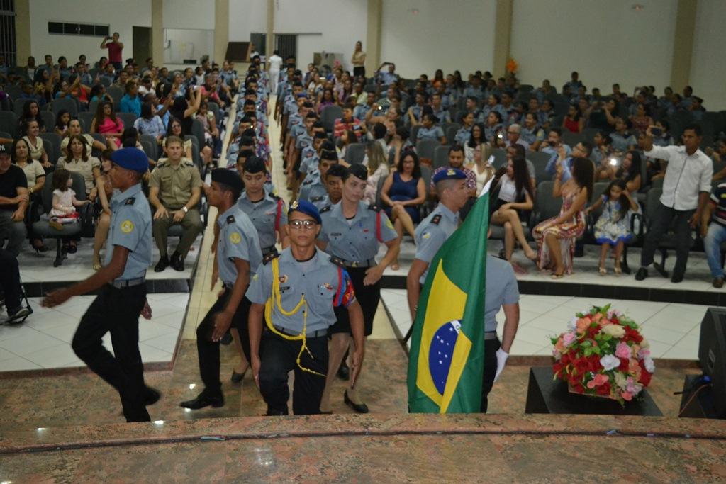 Colégio da Polícia Militar de Paraíso (TO) realiza formatura do 1º Curso de Assessores de Comunicação