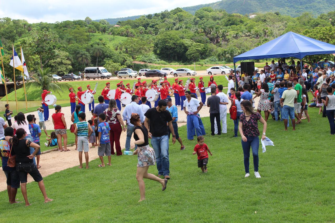 Cidade de Paraíso do Tocantins recebe a segunda edição da campanha Natal do Parque