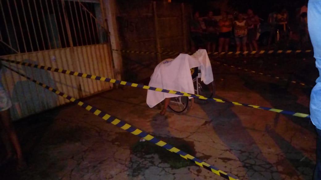 Cadeirante leva facada e morre em Divinópolis (TO)