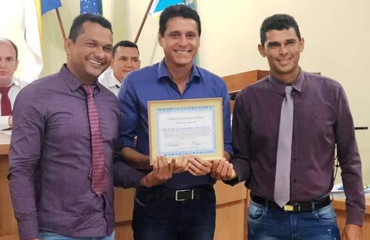 Nilton Franco recebe Moção de Aplausos da Câmara de Vereadores de Pium