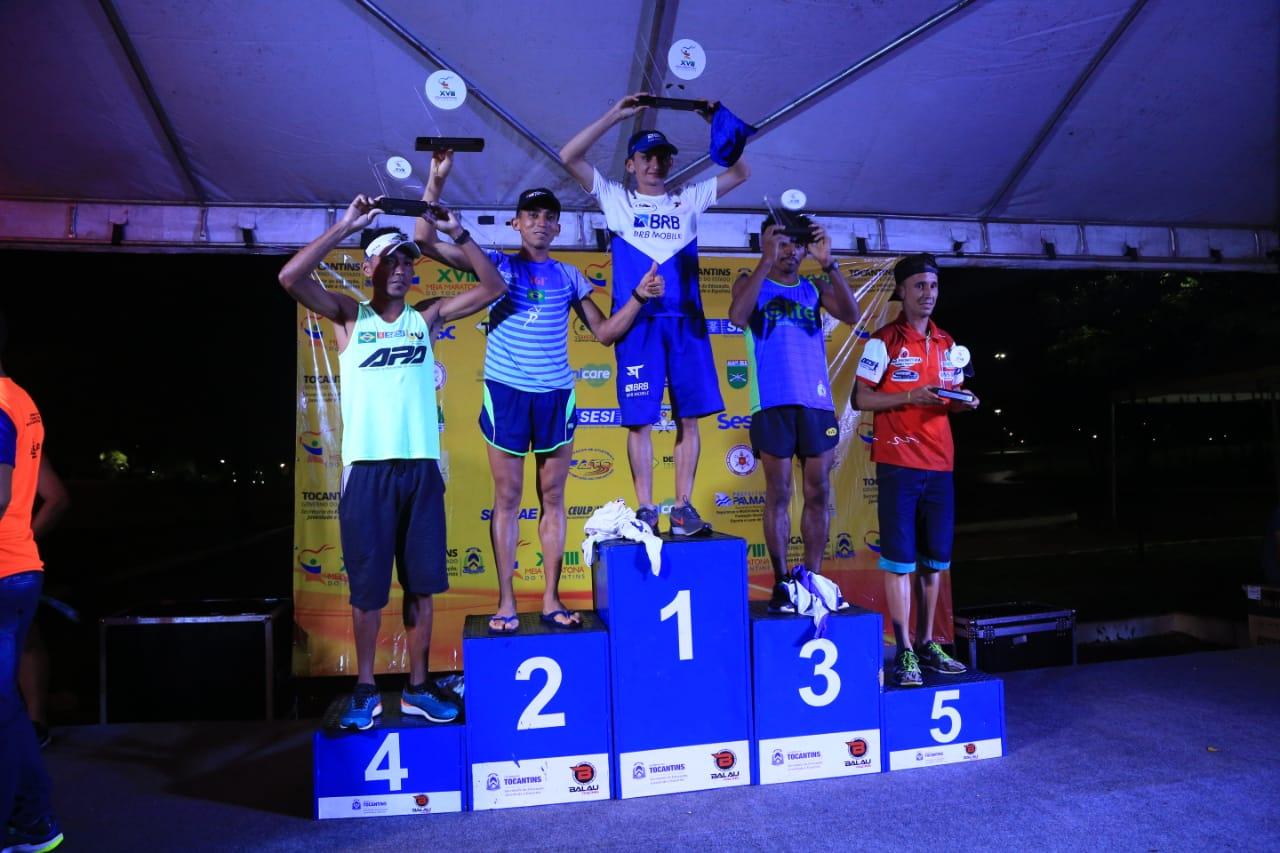 Atleta de Araguaína vence Meia Maratona do Tocantins