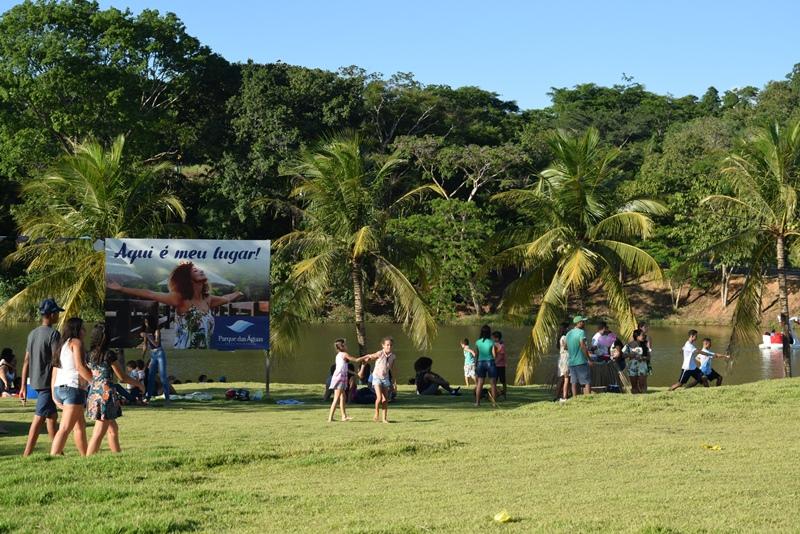 Parque das Águas em Paraíso (TO) recebe segunda edição do 'Natal no Parque'