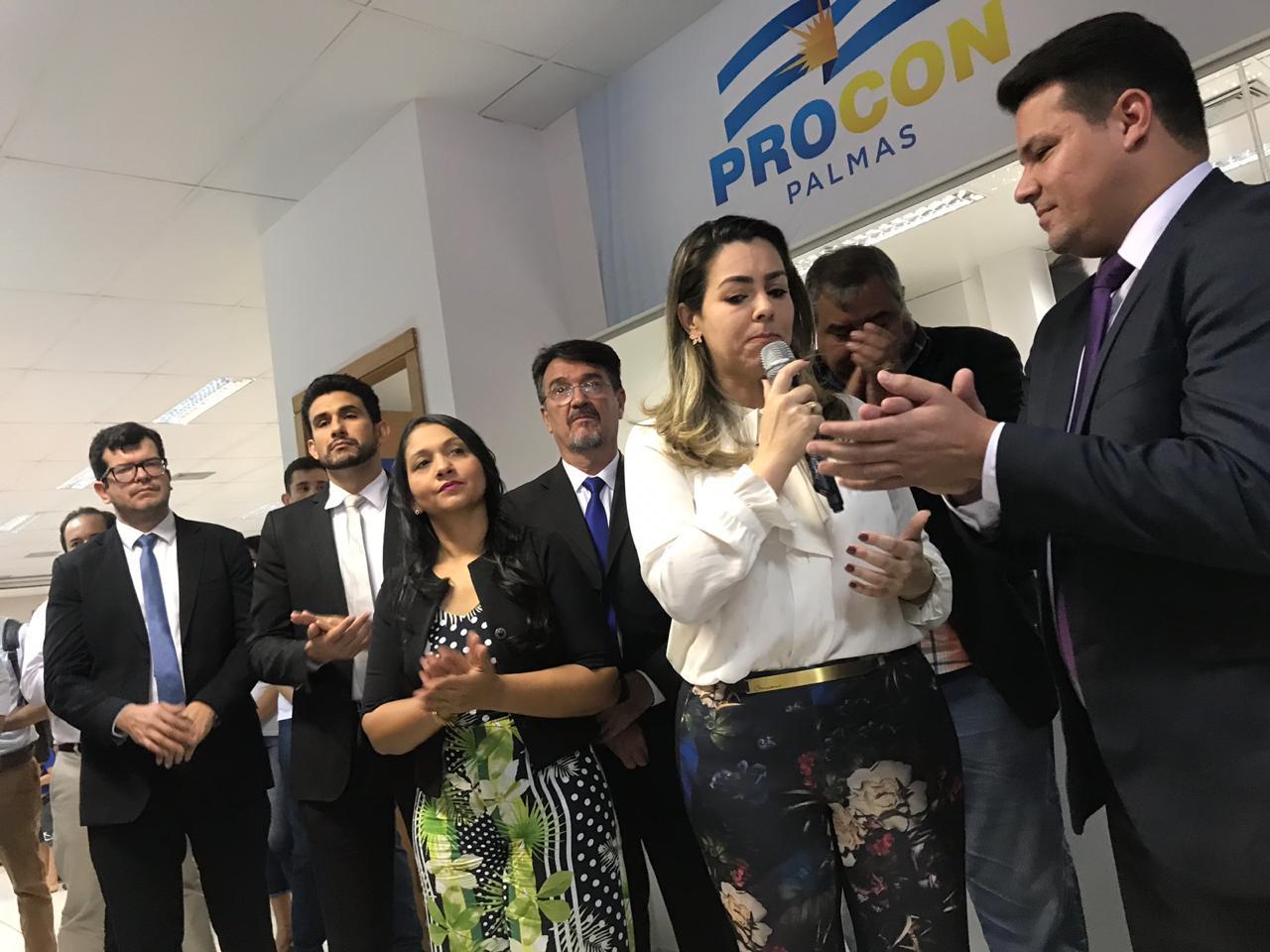 Cínthia Ribeiro destaca parceria do governo do TO para estruturar o Procon municipal
