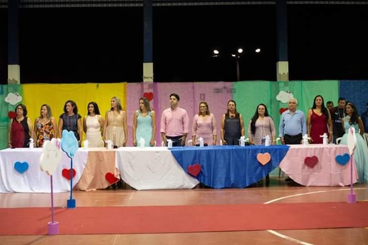 Prefeito de Lajeado (TO) participa de formatura de alunos da Educação Infantil