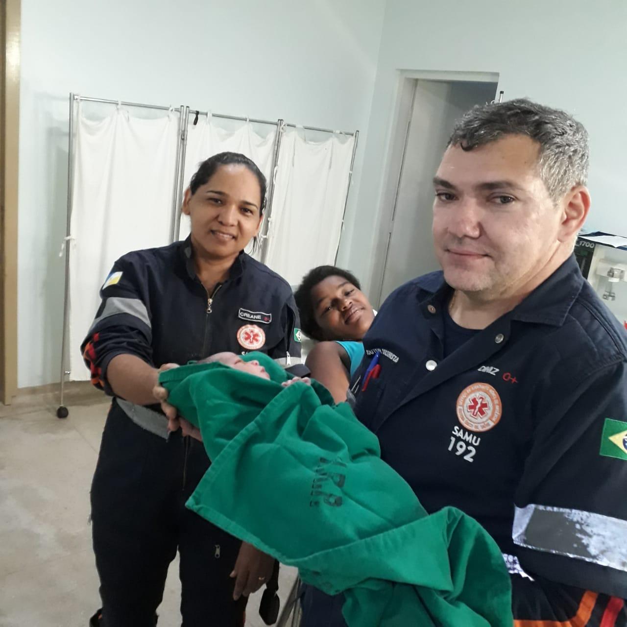 SAMU auxilia mulher em trabalho de parto em Paraíso (TO)