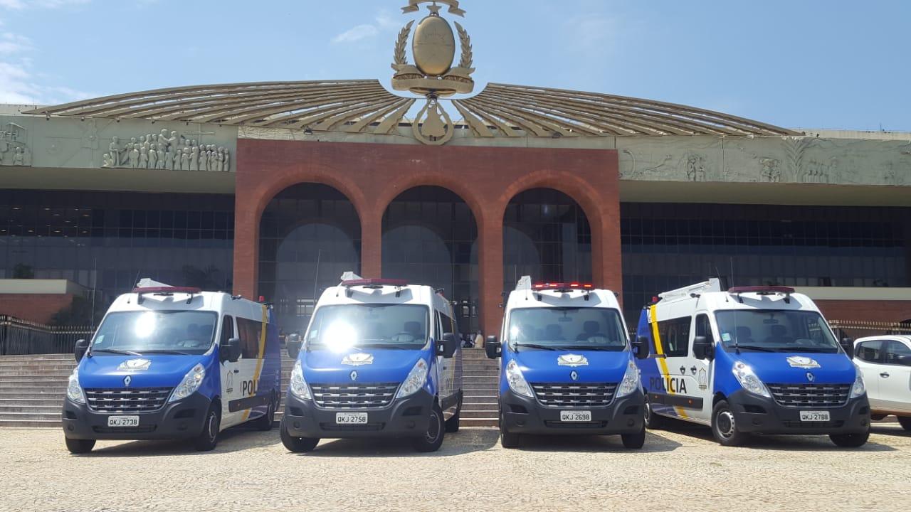 Assessoria de Polícia Comunitária finaliza entrega de Bases Comunitárias Móveis no Estado