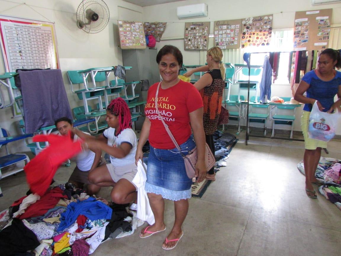 CRAS promove Natal Solidário Vigilhão Despertai