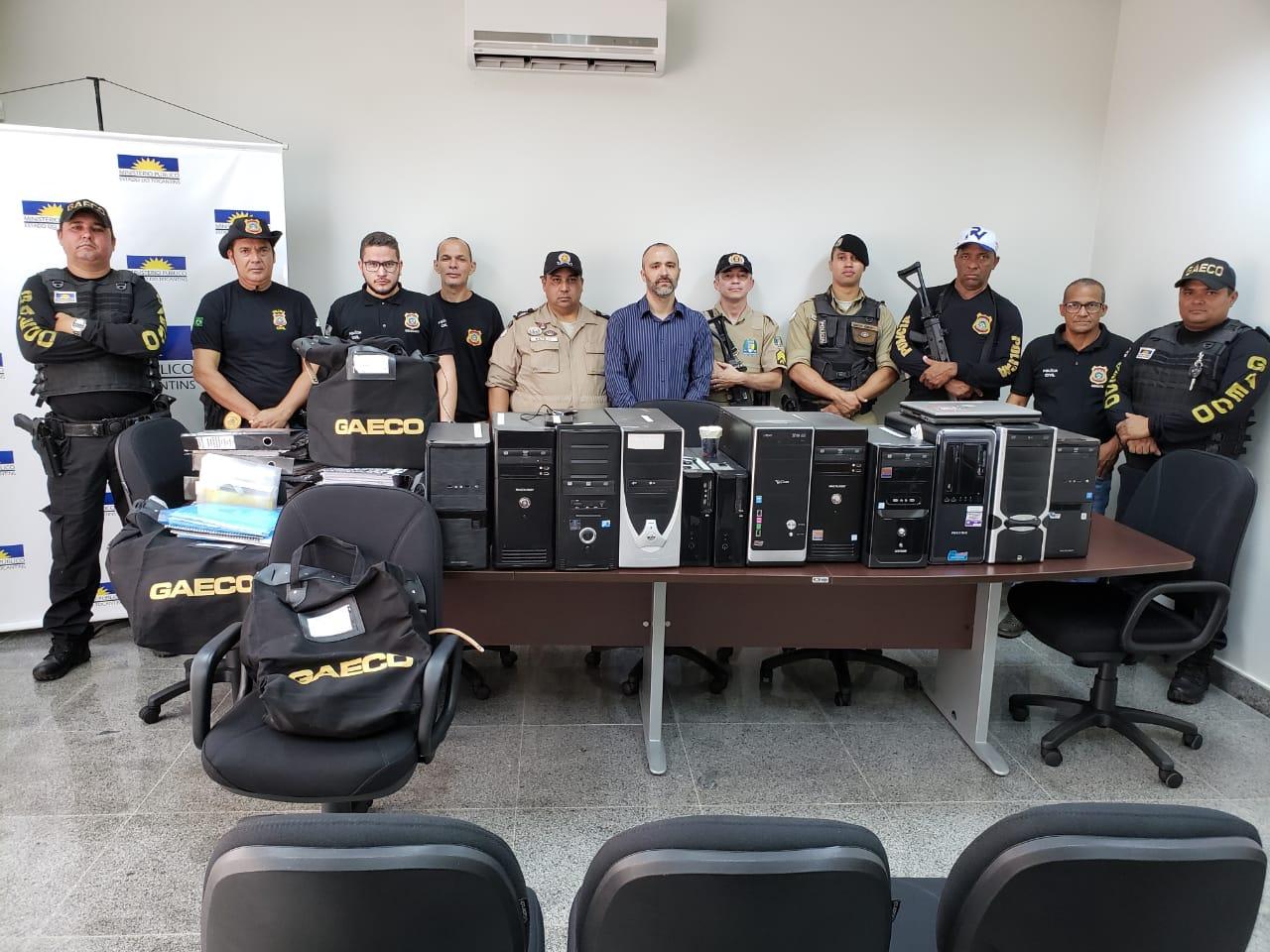 MPE faz operação por suspeita de fraudes em licitação na prefeitura de Peixe (TO)