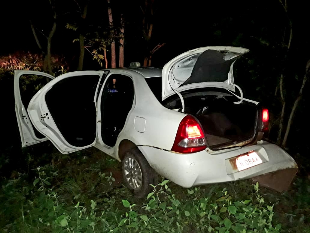 PM em Gurupi impede roubo e liberta taxista preso dentro de porta-malas