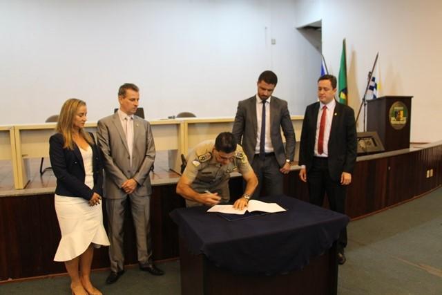 Assinatura de Termo para Implantação da Patrulha Maria da Penha reúne PM e mais 04 órgãos de segurança e justiça do Estado