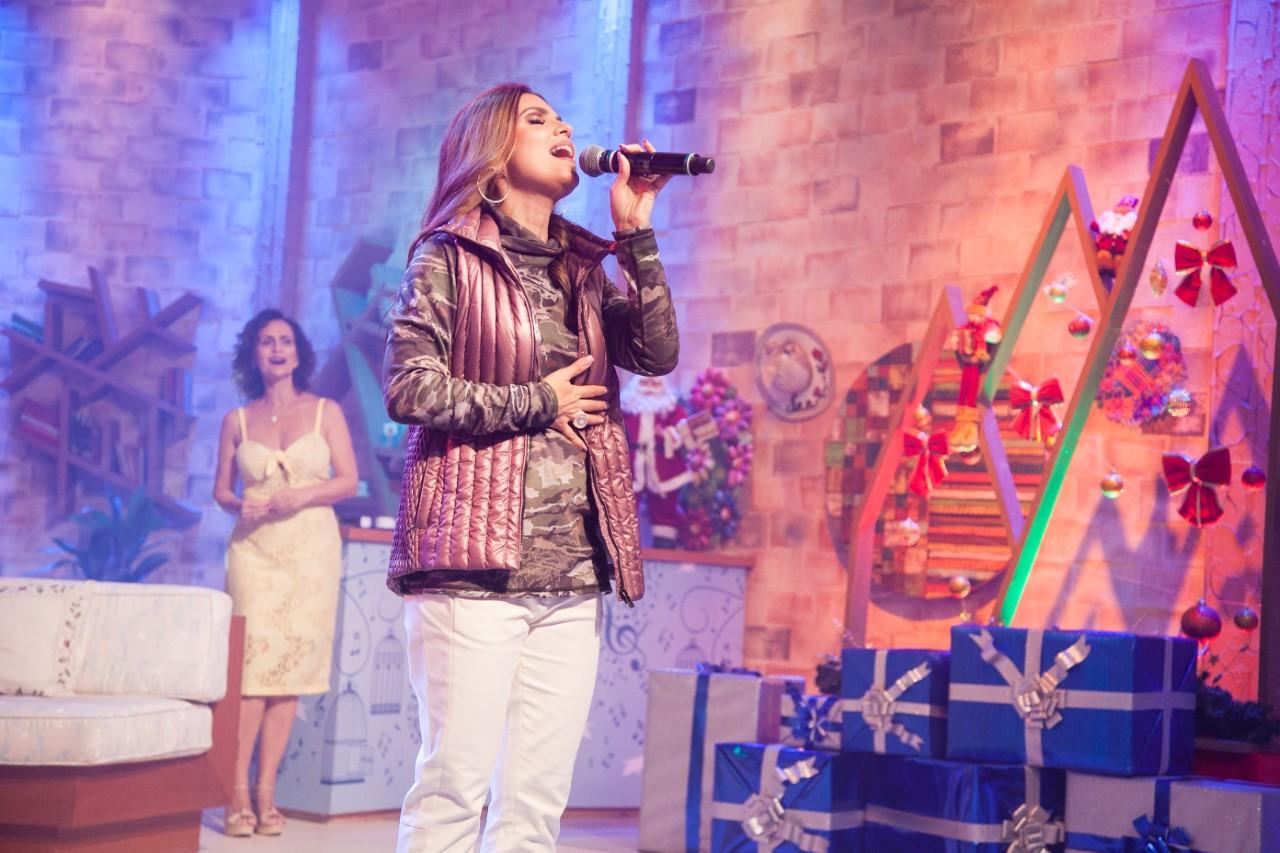 Ritmo Brasil: Aline Barros canta seus sucessos e fala sobre a carreira
