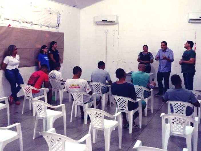 Socioeducandos do Case de Palmas iniciam curso de formação para Garçom