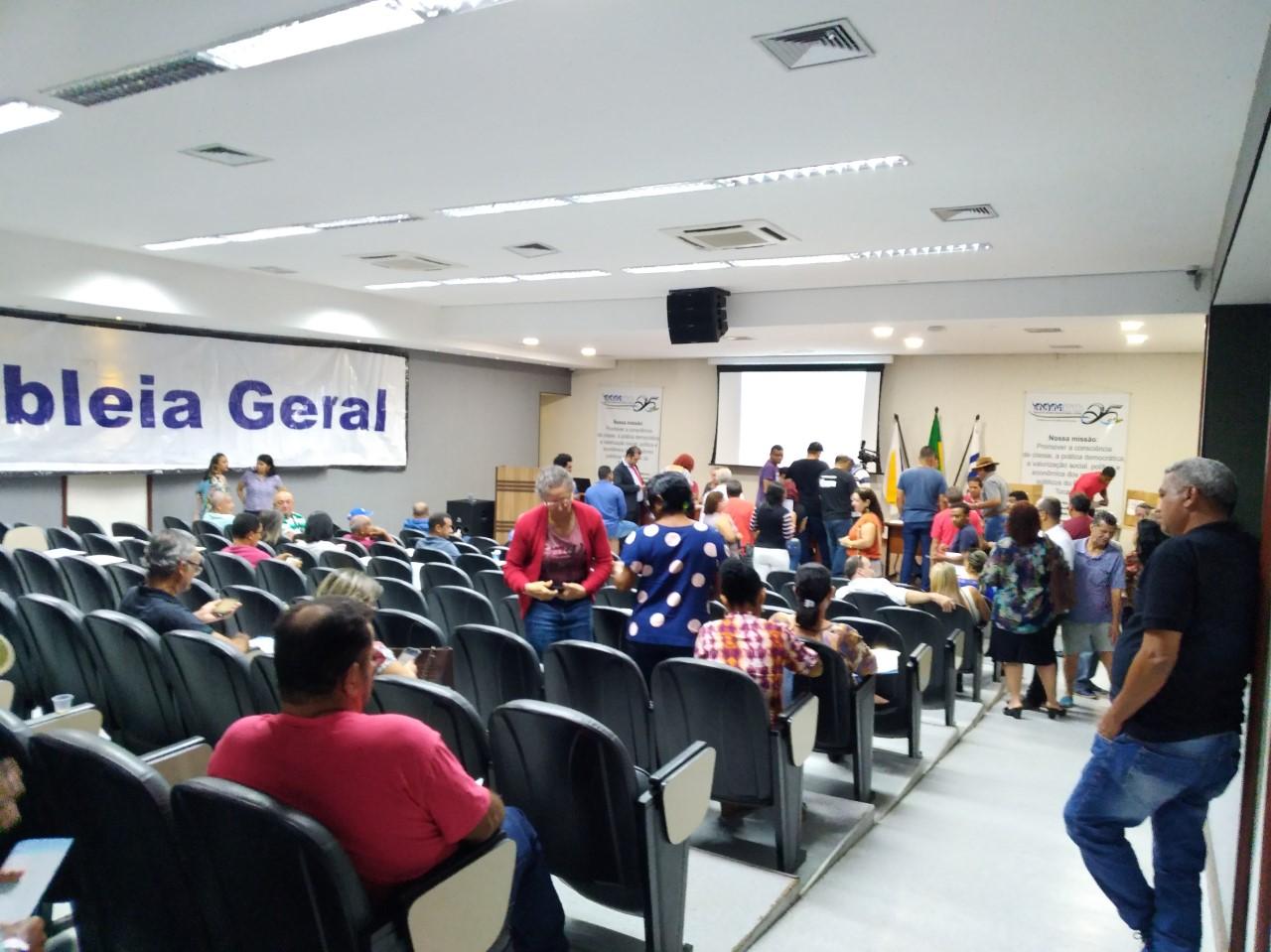 Sindicalizados aprovam orçamento de R$ 2,5 milhões para o SISEPE-TO