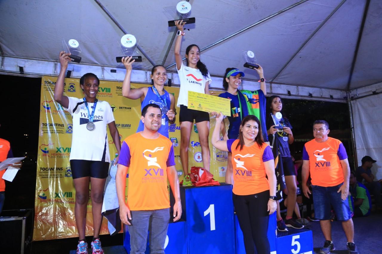 Seduc divulga resultados finais por categorias da Meia Maratona do Tocantins