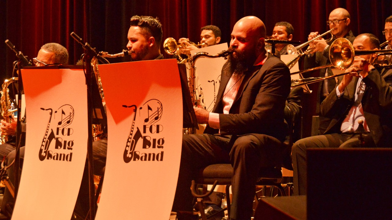 Concerto de Gala da FCP Big Band apresentou clássicos do Jazz e da Música Popular Brasileira