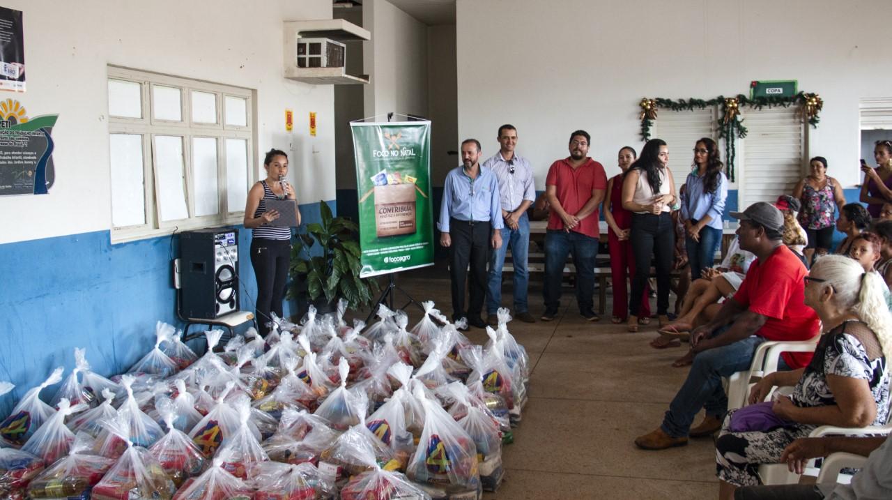 Focoagro realiza natal solidário