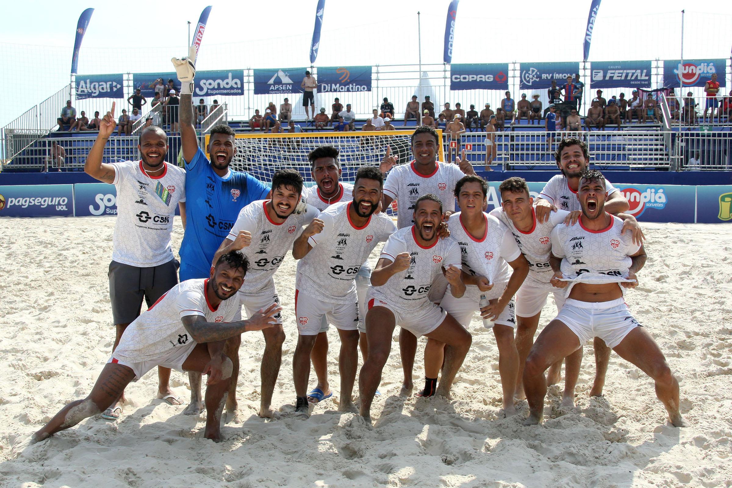 Arena Verão: Corinthians e Osasco Audax estão na final do Campeonato Paulista de Beach Soccer
