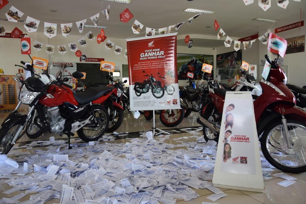Conheça os dois ganhadores da promoção da Paraíso Motos Honda