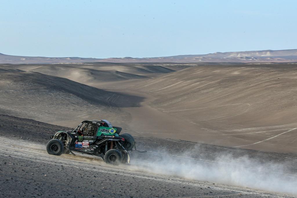 Dupla brasileira vence última etapa e fecha disputa na terceira posição dos UTVs do Rally Dakar