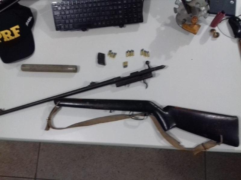 Homem é preso em Paraíso (TO) por porte ilegal de arma de fogo
