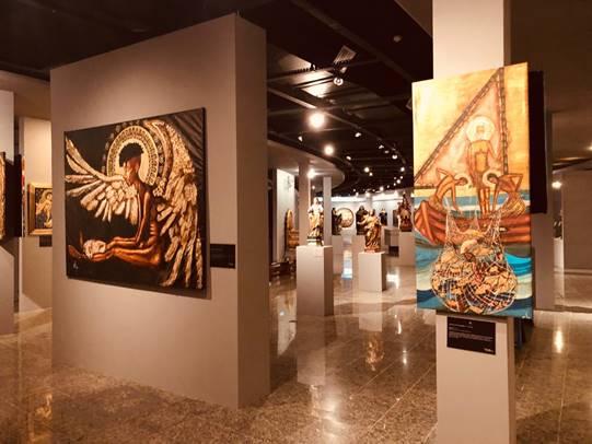 Exposição no Museu de Arte Sacra (MAAS) chama a atenção para os problemas sociais