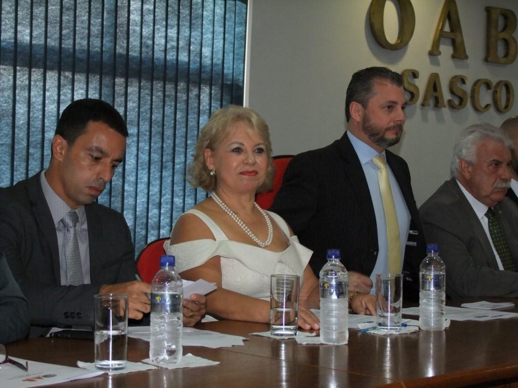 Nova diretoria da OAB Osasco toma posse em solenidade com participação do presidente da OAB-SP