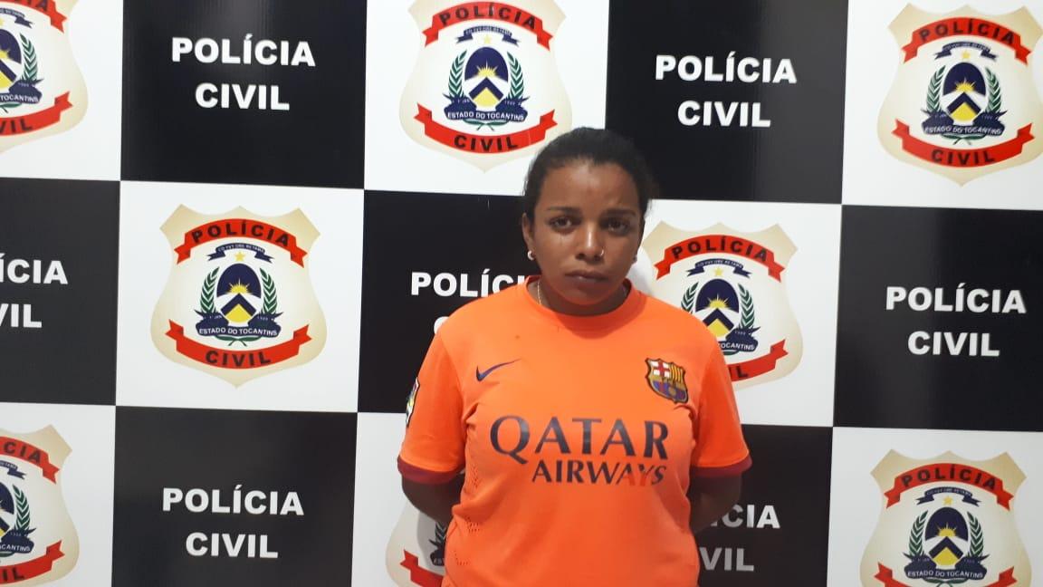 Polícia Civil prende suspeita de receptação em Palmas