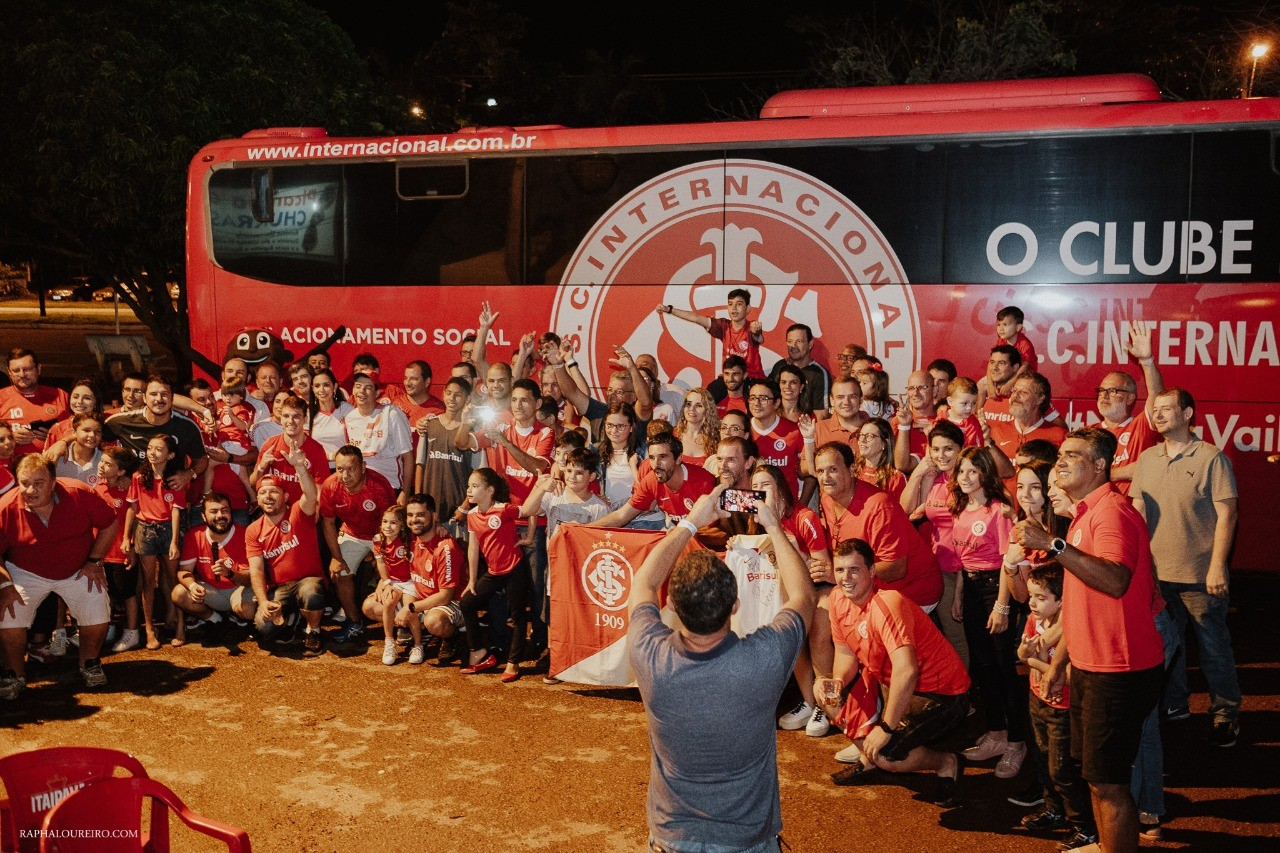 Após sucesso da Caravana Colorada em Palmas, torcedores do Internacional fazem campanha beneficente para Smaile Daniel Dreyer