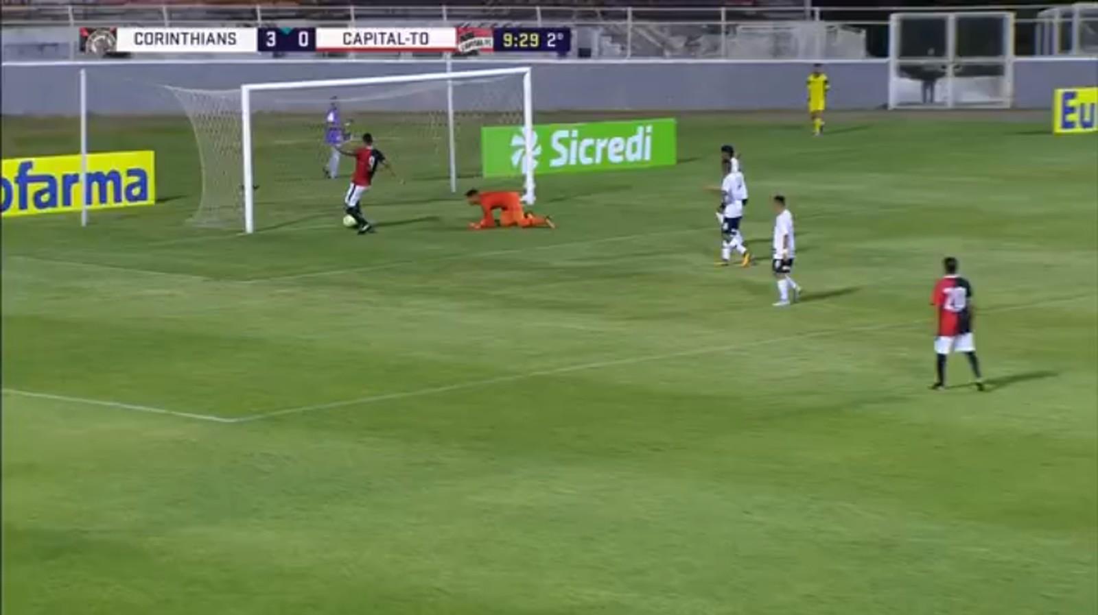 Corinthians abre vantagem, leva susto, mas vence o Capital FC em estreia na Copinha