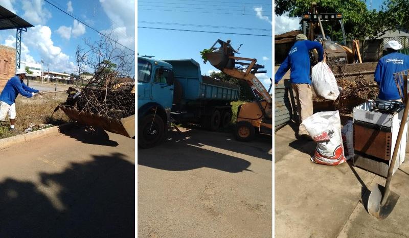 Prefeitura de Lagoa da Confusão segue com cronograma de limpeza