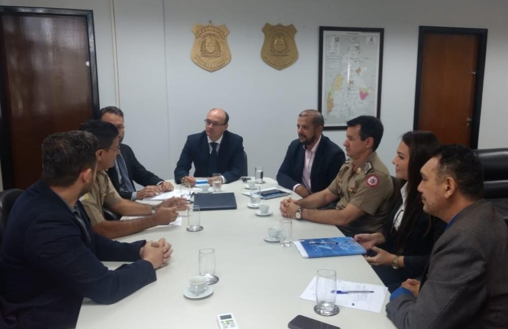 Forças de segurança estaduais iniciam série de reuniões em prol da Segurança Pública no Tocantins