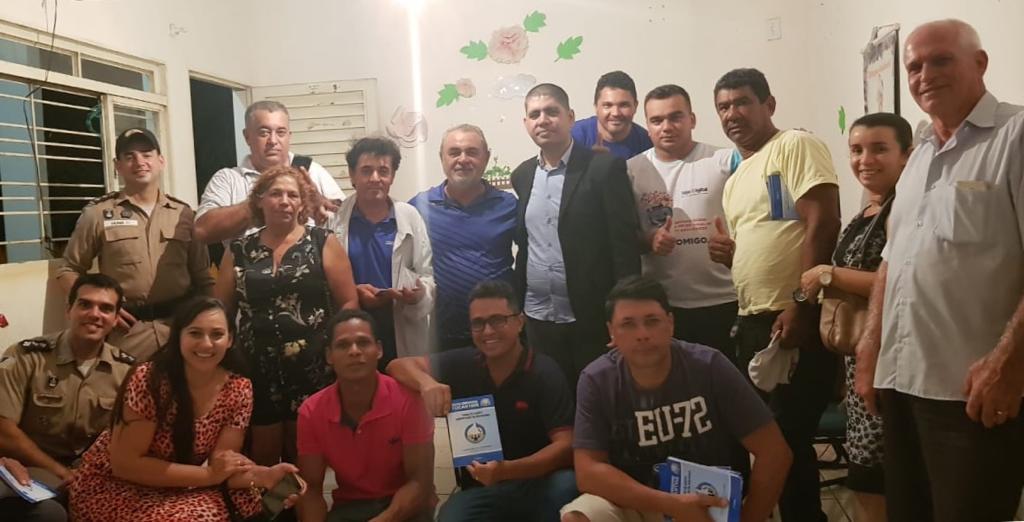 Forças de segurança estaduais criam comissão de conselho comunitário na região Norte de Palmas