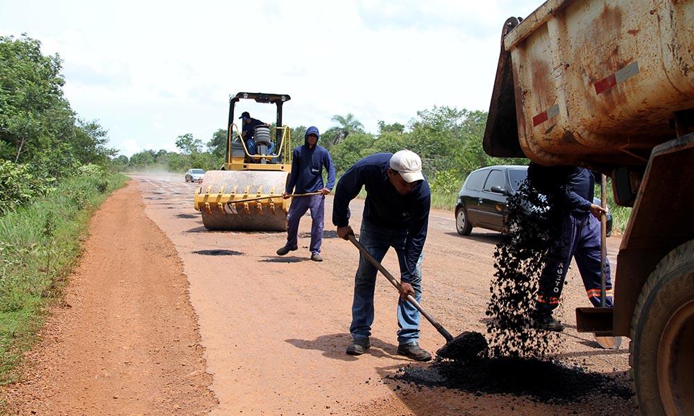 Governo intensifica serviço de manutenção de rodovias