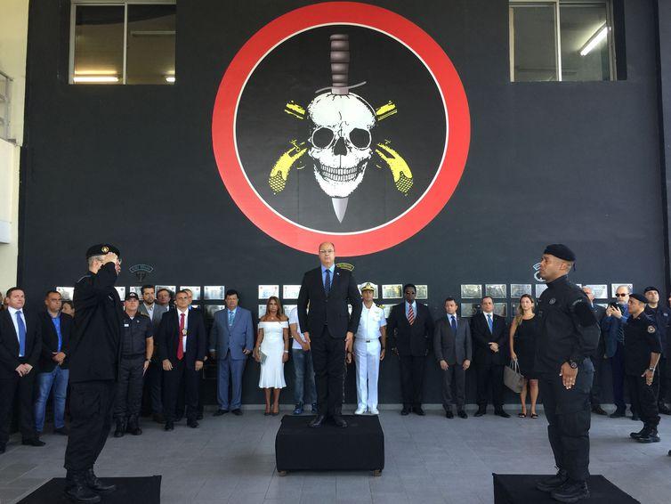 "Witzel volta a defender ""abate de criminosos"" no Rio de Janeiro"