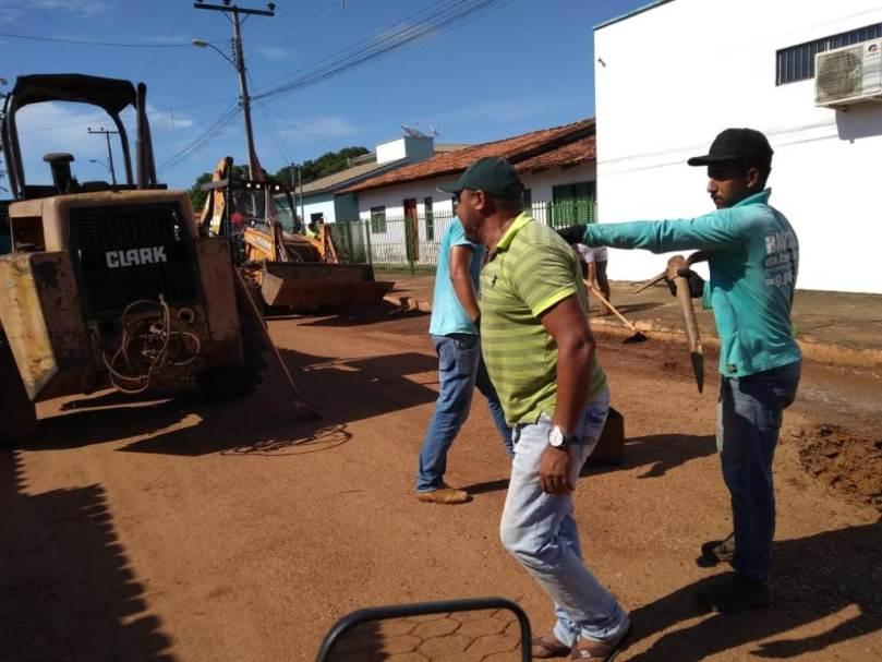 Ação da Prefeitura de Marianópolis garante manutenção de ruas e avenidas da cidade