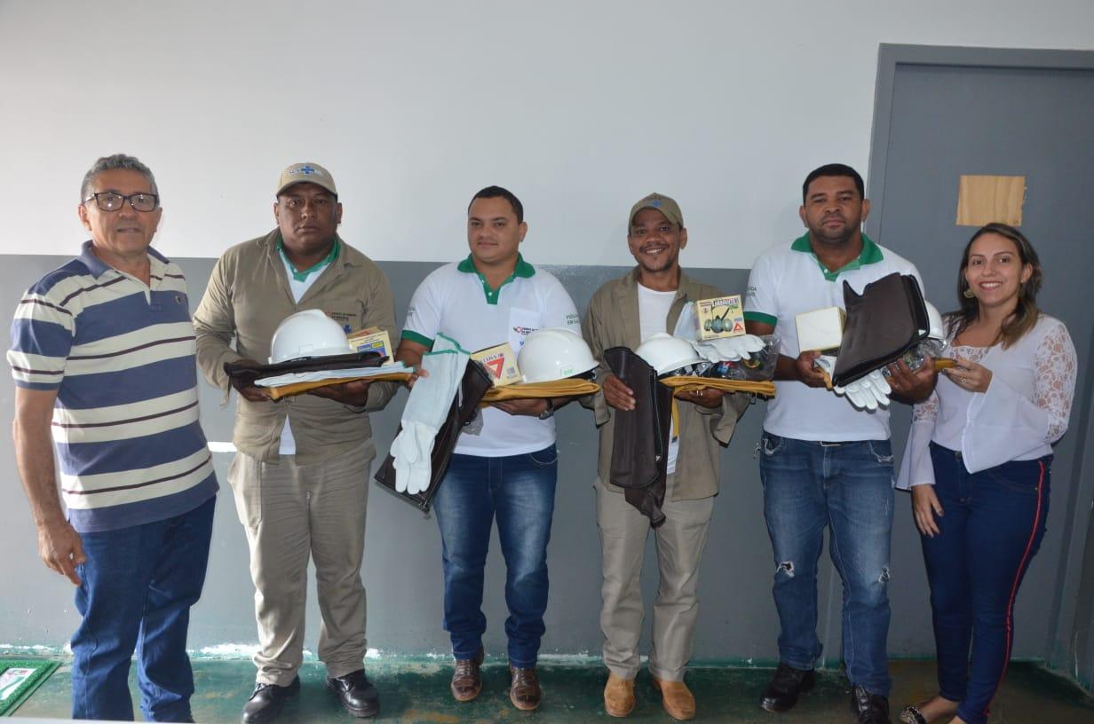 Após acordo firmado, Vigilância em Saúde de Porto Nacional recebe doações de EPI's