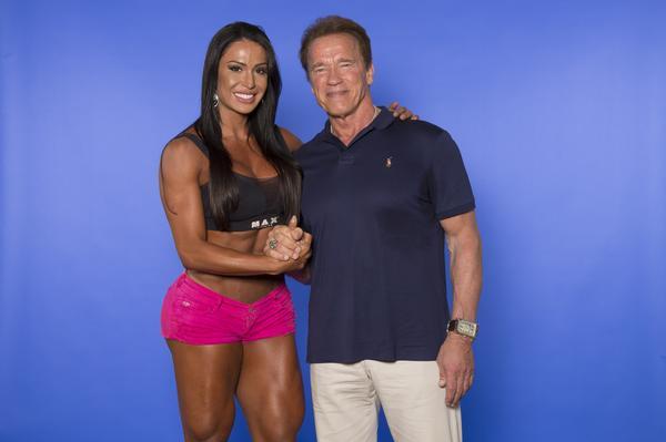 Gracyanne Barbosa trocaria 1 milhão para treinar com Arnold Schwarzenegger