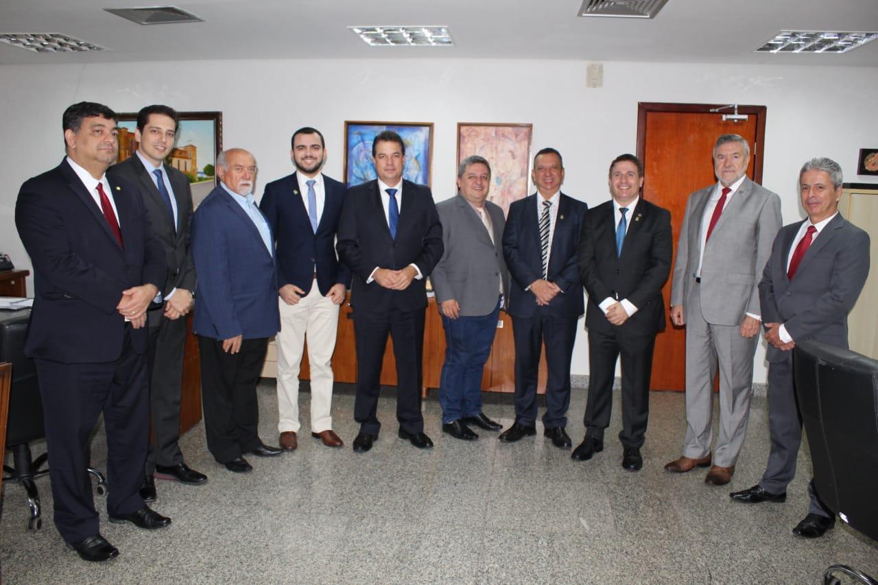 Deputado Olyntho é eleito tesoureiro geral do bloco brasileiro da UPM