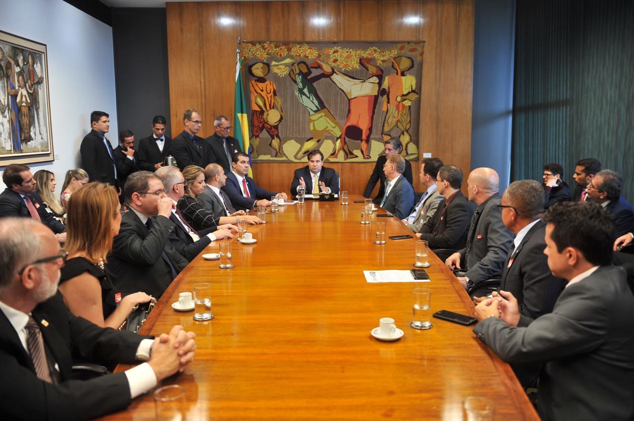 Presidente do Sindepol/TO participa de análise do pacote anticrime e anticorrupção do governo federal, em Brasília