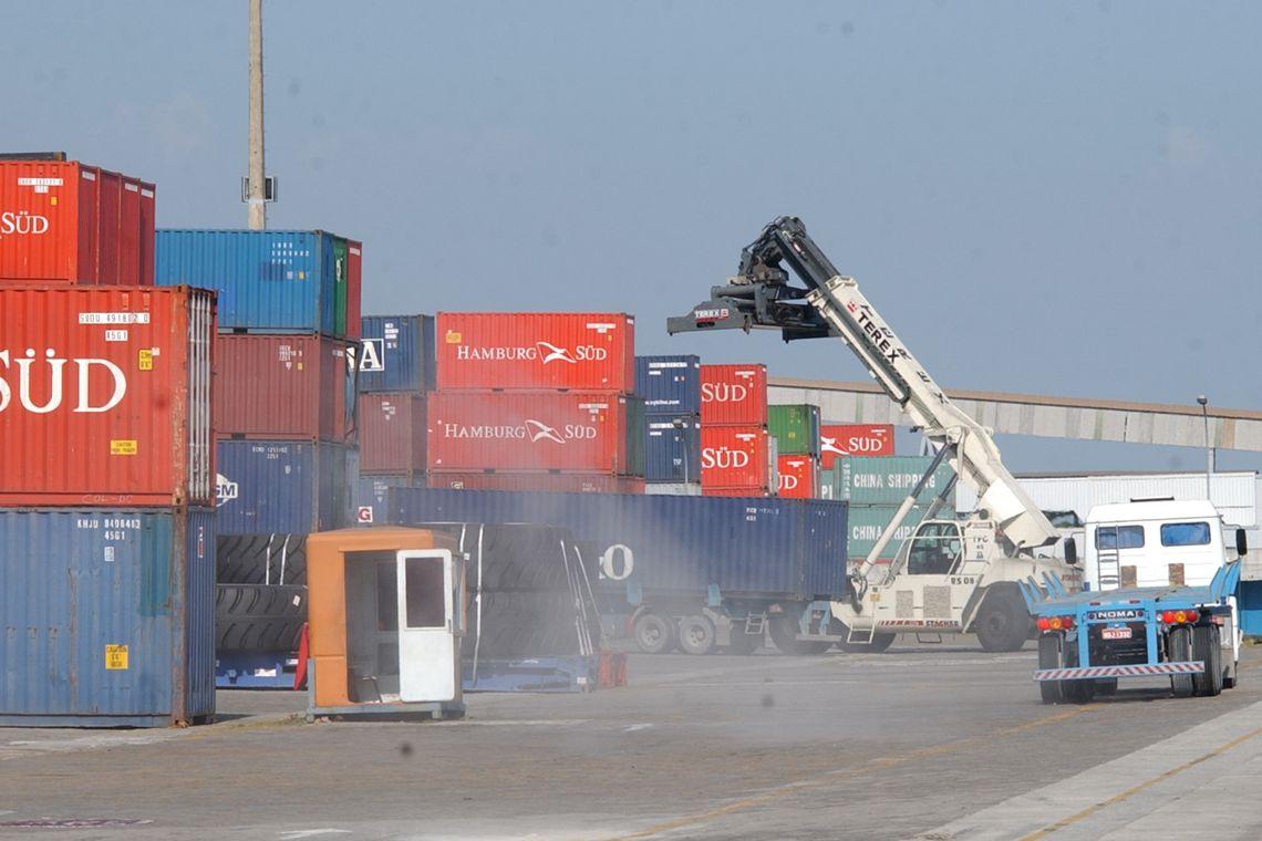Portos movimentaram 1,117 bilhão de toneladas de cargas em 2018