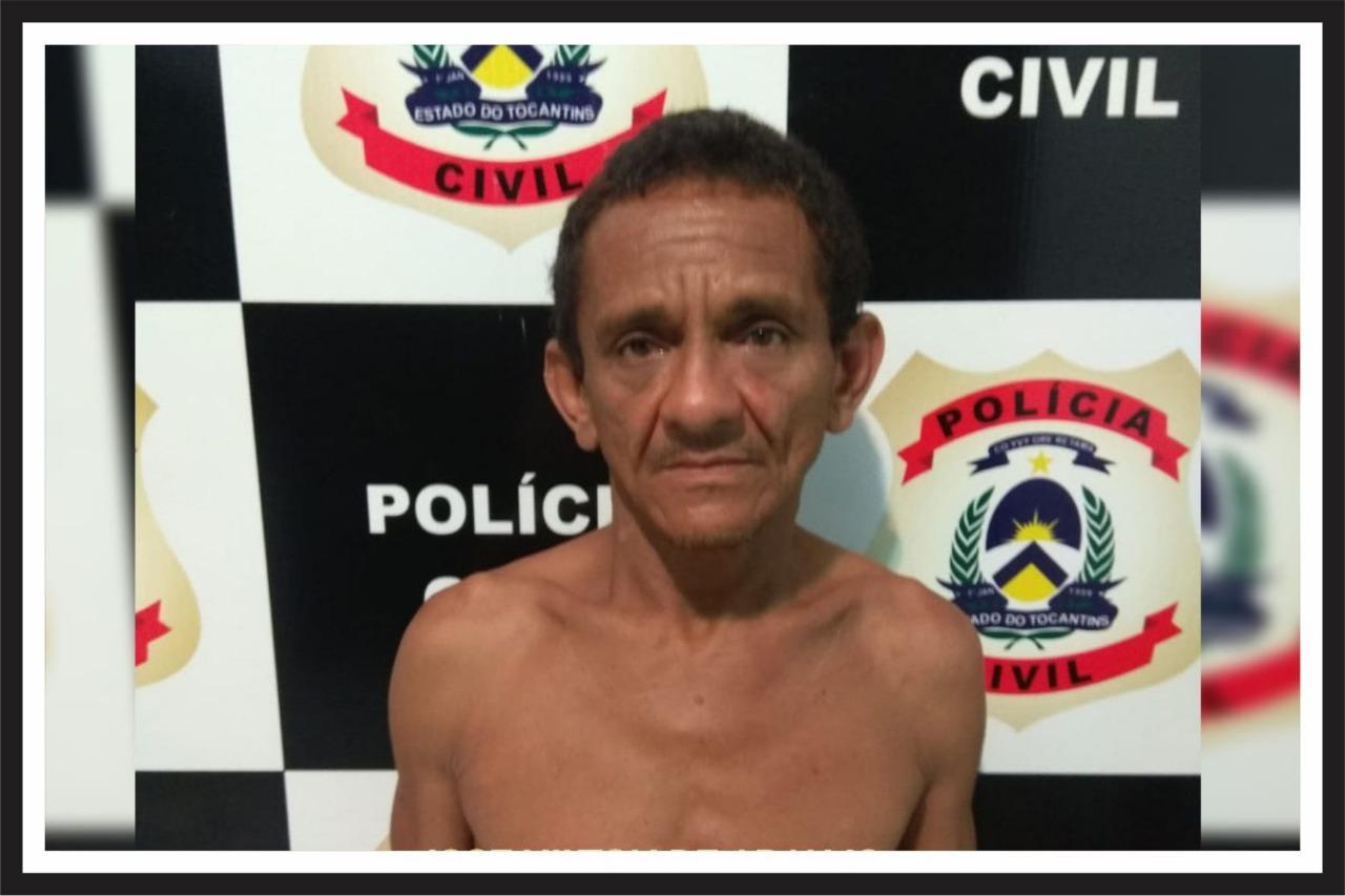 """Polícia prende """"Baixinho"""", suspeito de cometer diversos furtos em comércios de Palmas"""