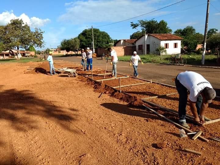 Prefeitura de Araguacema inicia obras da praça da Cidade Alta