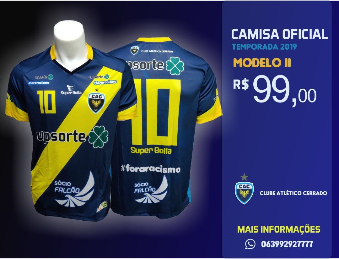 Torcedores já podem adquirir a camisa oficial do Atlético Cerrado
