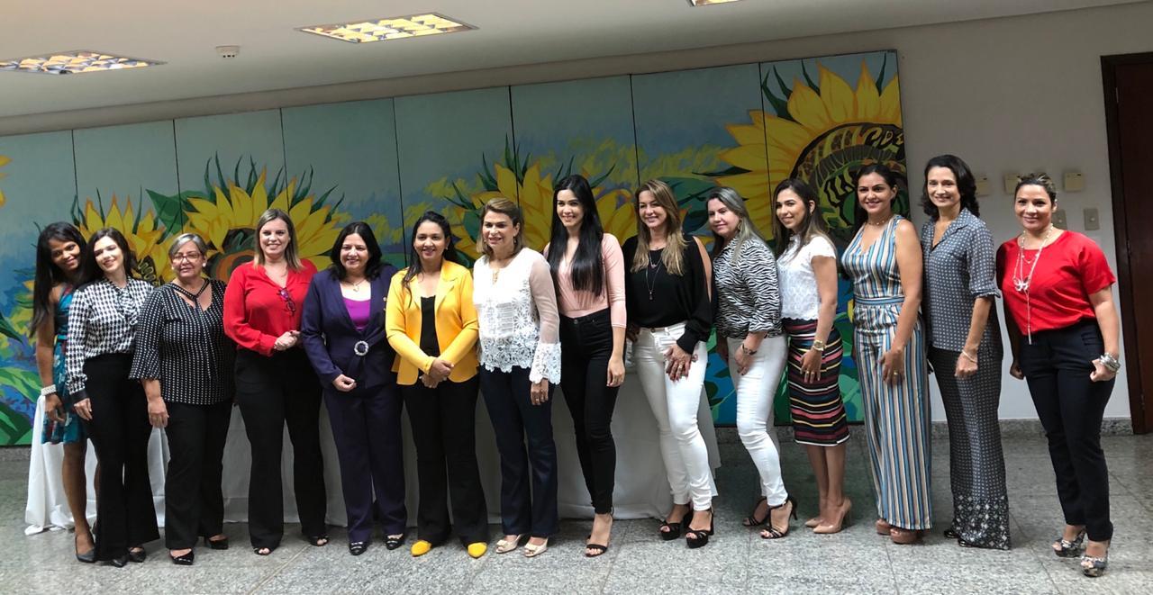 Mulheres de parlamentares unidas em ações sociais pelos tocantinenses