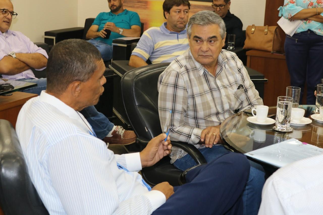 Presidente do Sistema FAET/SENAR, participa de reunião na Secretária da Fazenda para acordo do valor de imposto de frete de grãos