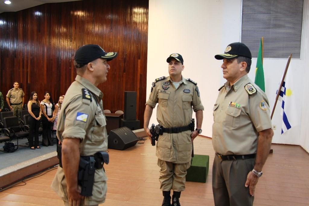 PM realiza troca de comando do Batalhão de Polícia Militar Rodoviário e Divisas