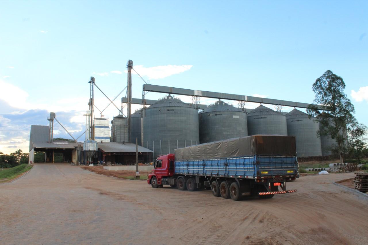 Armazéns da Coapa já receberam mais de 20 mil toneladas de soja